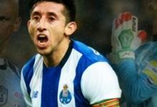 Héctor Herrera dedica os golos a Miguel Calero