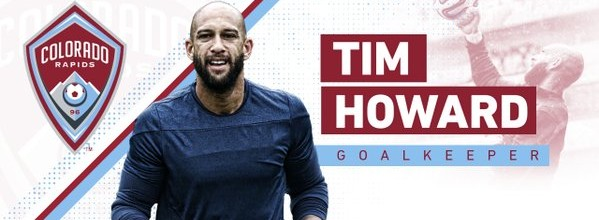 Tim Howard assina pelos Colorado Rapids