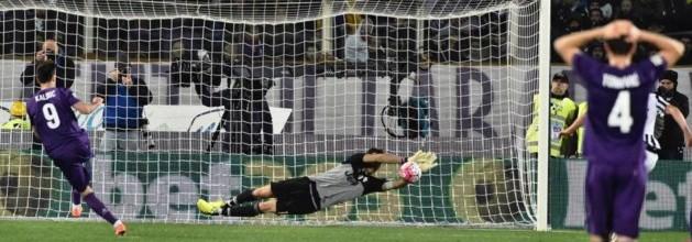 Gianluigi Buffon campeão pelo Juventus FC com penalti defendido aos 89 minutos