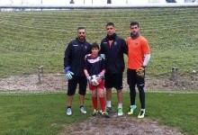 Gustavo Jorge, aos 12 anos, treinou com os seniores do Académico de Viseu