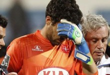 Hugo Ventura sofre traumatismo crânio facial