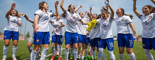 Bárbara Marques e Diana Oliveira vencem torneio UEFA sub-16 com Portugal