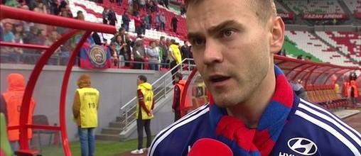 Igor Akinfeev campeão pelo CSKA com quinze jogos sem sofrer golos