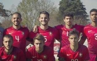 Joel Pereira em evidência no Portugal 0-1 Inglaterra – Torneio de Toulon'2016