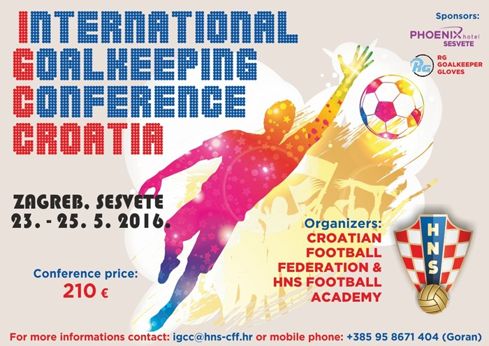 nelson pereira international goalkeepers conference croatia
