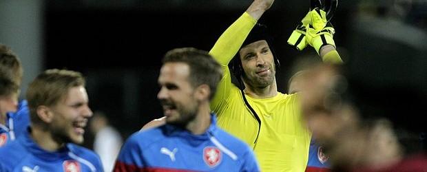 Petr Cech tornou-se o mais internacional de sempre pela República Checa