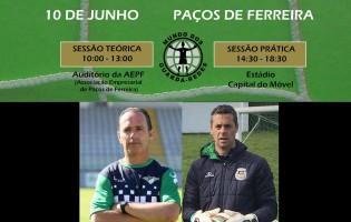Rui Barbosa apresenta a sua metodologia na Formação O Mundo dos Guarda-Redes
