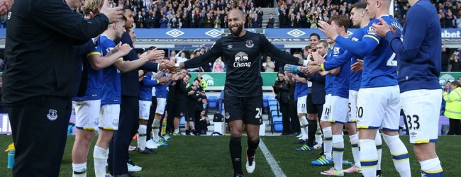 Tim Howard despediu-se do Everton FC