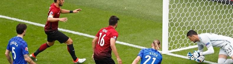 Volkan Babacan v. Danijel Subasic – Estatísticas – Turquia 0-1 Croácia