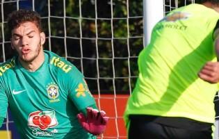 Ederson Moraes lesiona-se e Marcelo Grohe substitui presença na Copa América