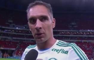Fernando Prass apela contra a violência nos estádios