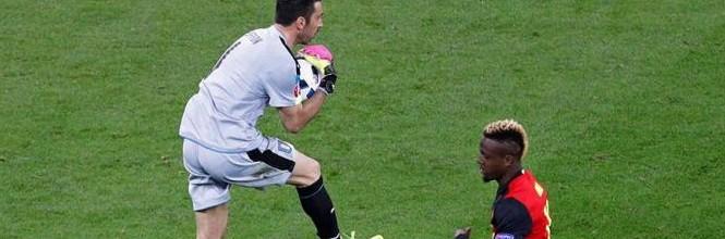 Gianluigi Buffon v. Thibaut Courtois – Estatísticas – Itália 2-0 Bélgica