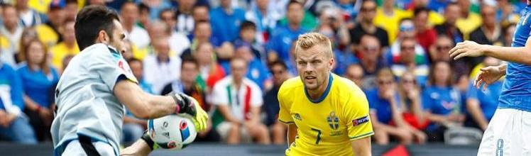Gianluigi Buffon v. Andreas Isaksson – Estatísticas – Itália 1-0 Suécia