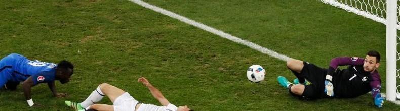Hugo Lloris v. Etrit Berisha – Estatísticas – França 2-0 Albânia