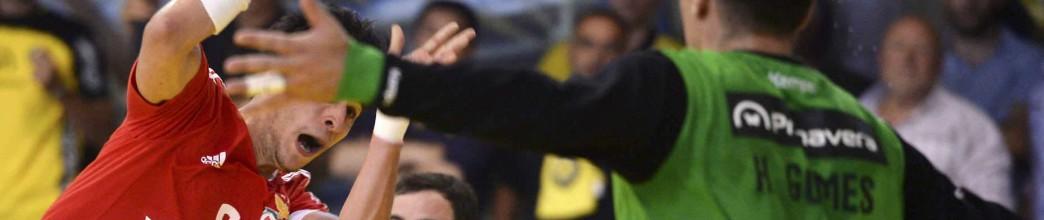 Humberto Gomes e Emanuel Ribeiro campeões nacionais de Andebol com o ABC