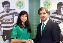 Inês Pereira assina pelo Sporting CP