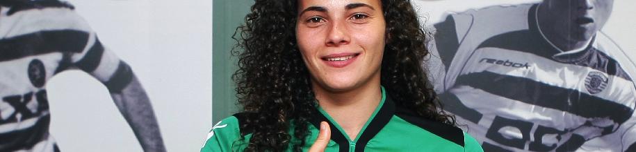 Patrícia Morais assina pelo Sporting CP