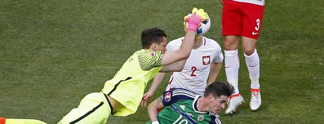 Wojciech Szczesny v. Michael McGovern – Estatísticas – Polónia 1-0 Irlanda do Norte