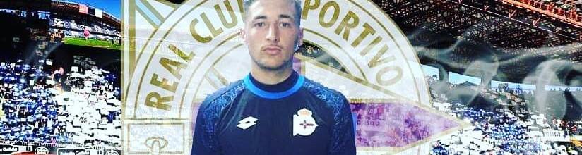Ricardo Benjamim, aos 16 anos, assina pelo RC Deportivo