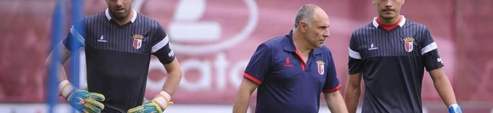 Ricardo Velho iniciou trabalho com os seniores do SC Braga