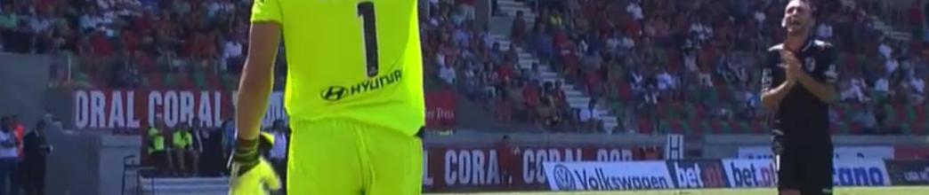Douglas Jesus garante 3 pontos com 2 belas defesas – CS Marítimo 0-2 Vitória SC