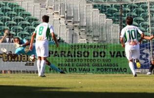 Hugo Marques defende penalti no Portimonense SC 2-1 Sporting da Covilhã