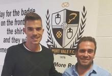 Miguel Santos assina pelo Port Vale FC
