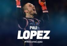 Pau López emprestado ao Tottenham
