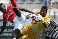 Paulo Vítor dos Anjos em bom plano no Varzim SC 2-0 SL Benfica B