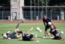 Ana Rita Oliveira, Rute Costa e Liliana Almeida começaram trabalhos no SC Braga