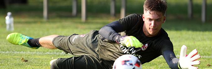Alessandro Plizzari promovido ao AC Milan aos 16 anos