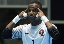 Bebé Vaz é o guarda-redes com mais percentagem de defesas no Mundial de Futsal
