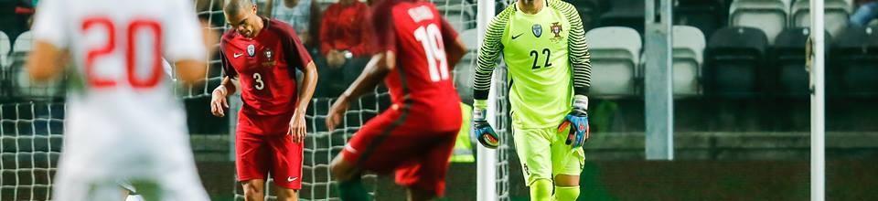 Eduardo Carvalho não sofre golos na seleção há quase 400 minutos