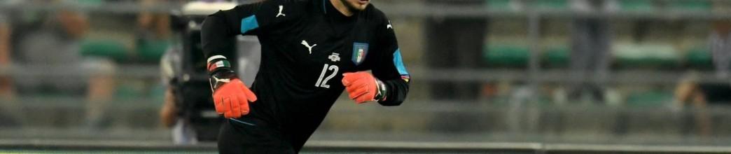 Gianluigi Donnarumma estreia-se aos 17 anos é o mais jovem guarda-redes de sempre a fazê-lo pela Itália