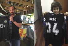 Beto Pimparel entregou camisola a criança que procurava desde agosto