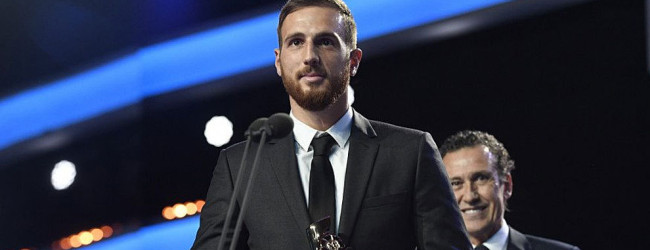 Jan Oblak vence prémio de melhor guarda-redes da La Liga 2015/2016
