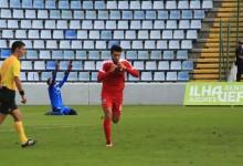 Serginho Silva defende penalti e garante passagem do Santa Clara na Taça