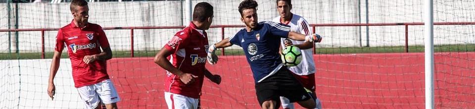 Tiago Martins reina na baliza da UD Vilafrenquense aos 18 anos, não sofre há 300 minutos e foi chamado à seleção sub-19