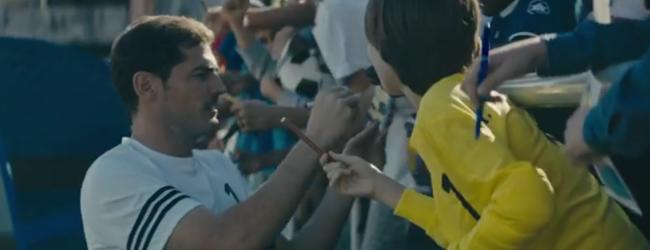 Iker Casillas é protagonista em curta-metragem publicitária com mensagem de persistência