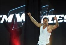 Tim Wiese estreou-se no Wrestling com vitória