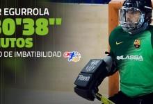 Aitor Egurrola bate recorde de imbatibilidade em Espanha