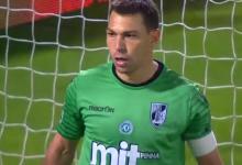Douglas Jesus protagoniza bela defesa no Vitória SC 1-1 GD Chaves