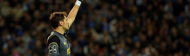 Iker Casillas não sofre há cinco jogos consecutivos