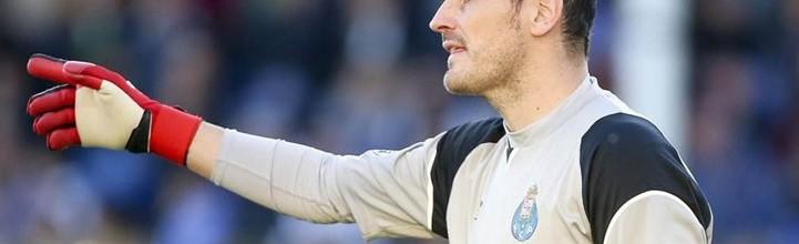 Iker Casillas foi batido ao fim de 534 minutos pelo FC Porto