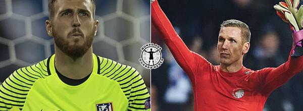Jan Oblak e Robin Olsen terminam fase de grupos da Champions League como os menos batidos