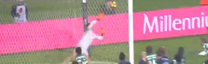 Joel Pereira protagoniza defesa espetacular no CF Os Belenenses 0-1 Sporting CP