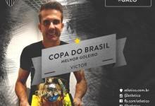 Victor Bagy é o melhor guarda-redes da Copa do Brasil pela segunda vez