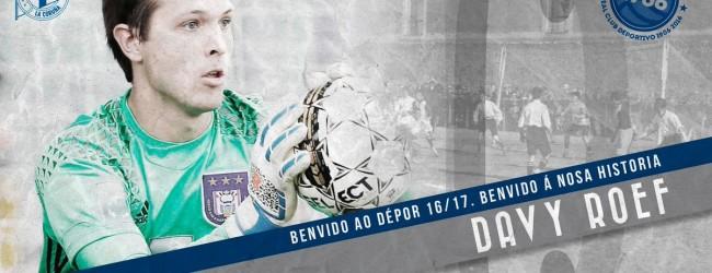 Davy Roef emprestado ao RC Deportivo