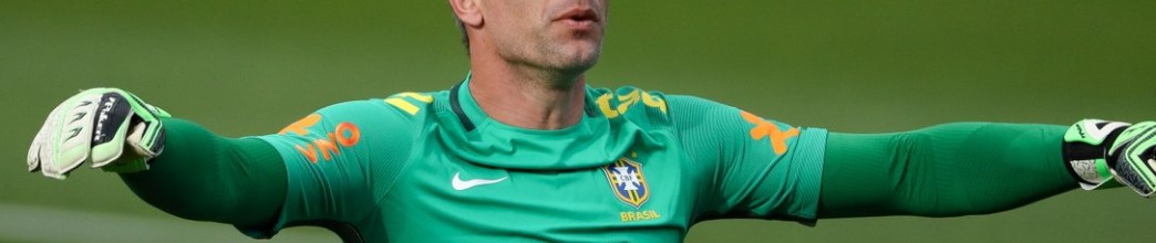 Fernando Prass, aos 38 anos, ainda sonha com a seleção Brasileira