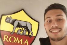 Leonardo Rodrigues treinou-se na AS Roma